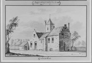 Achterzijde van Stoop of Stopenburg bij Hazerswoude