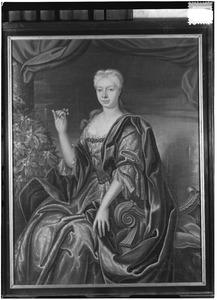 Portret van Aleijdis Richarda Gertrudis Haeck (1707-1760)