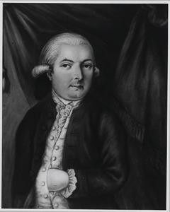 Portret van Jacobus Johannes van Willigen (1726-1798)