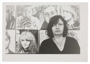 Zelfportret van Helena van der Kraan