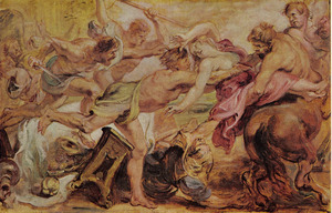 De roof van Hippodameia (Ovidius, metamorfosen, XII, 210-335)