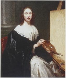 Portret van een vrouw, mogelijk een zelfportret