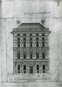 Palazzo Podestà: Plan van de gevel