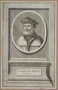 Portret van Wolfgang Musculus (1497-1563)