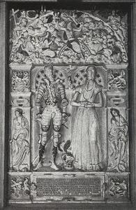 Grafsteen van Thomas Sture (1503-1563) en zijn echtgenote Barthe Ahlefeldt (1518 - 1584)