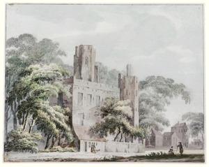 Ruïne van kasteel Ter Meer in Maarssen