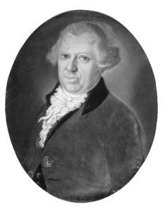 Portret van Izaac ten Cate (1743-1812)