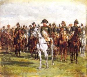 Napoleon en zijn staf