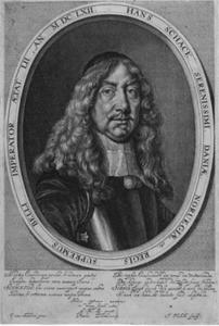 Portret van graaf Hans Schack (1609-1676)