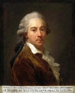 Zelfportret van Marcello Bacciarelli (1731-1818)