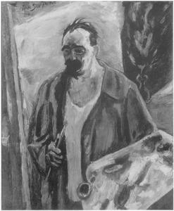 Voorstudie zelfportret (1924)