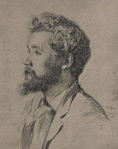 Portret van Pier Pander (1864-1919)