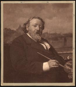 Portret van Jacob Maris (1837-1899)