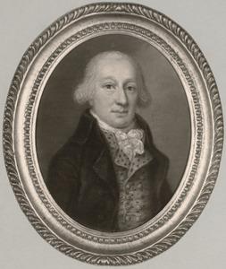 Portret van Gerard Leonard Maximiliaan Taets van Amerongen (1762-1807)