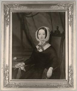 Portret van Caroline Charlotte Guillaumine van der Brugghen (1806-1844)