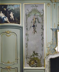 Rocaille-ornamenten met verwijzingen naar de herfst