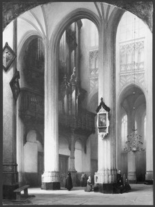 Interieur van de Sint Jan in Den Bosch
