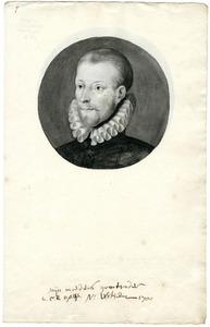 Portret van Lambert Cornelisz. Opsy (....-1583)