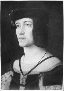 Portret van een man, mogelijk Jan van Luxemburg, heer van Ville