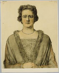 Portret van M.G. Teerink-Schrier