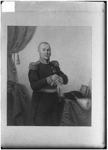 Portret van Frederik Nicolaas Lucretius Aberson (1779-1859)