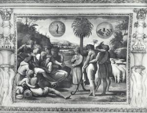 Jozef vertelt zijn broers zijn dromen (Genesis 37:5-9)