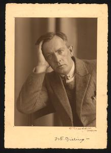 Portret van Herman Bieling