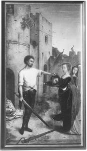 De onthoofding van Johannes de Doper (Miraflores-altaarstuk)