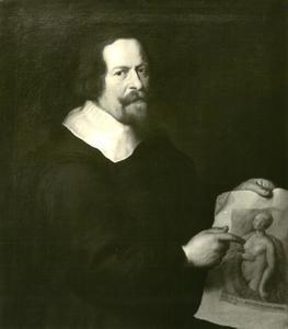 Zelfportret van Johann de Pay (1614-1660)