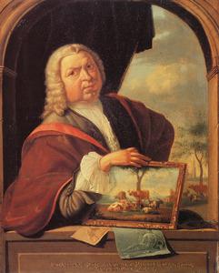 Zelfportret van Jan van Gool (1686-1763)