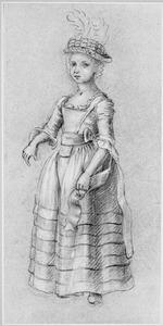 Portret van Johanna Jacoba van Oosten de Bruyn (1768-1793)