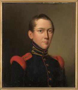 Portret van Coenraad Albert Johannes Cornelis van Aerssen Beijeren (1819-1838)