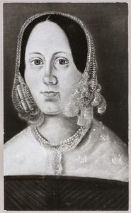 Portret van Elisabeth Wilhelmine Crahay (1814-1888)