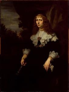 Portret van Eva Geelvinck (1619-1698)