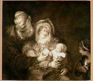 De vreugde van Abraham en Sara over de geboorte van Isaak (Genesis 21:6)