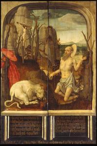 De H. Hieronymus in de wildernis