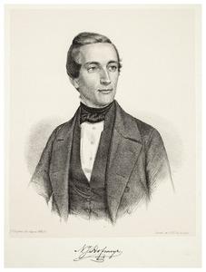 Portret van Nicolaas Jacobus Hofmeyr (1827-1909)