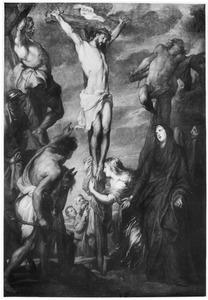 Christus dood aan het kruis te Golgotha