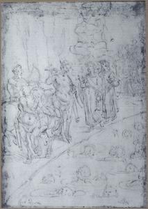 De zevende circel van Dante's Inferno: Schenders van de naaste ondergedompeld in een rivier van bloed