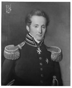 Portret van Adolf Frederik Lodewijk van Rechteren Limpurg (1793-1851)
