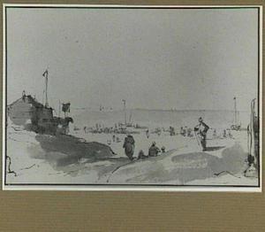 Scheveningen, het strand
