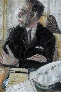 Portret van Johannes Sjoerd Brandsma (1918-2002)