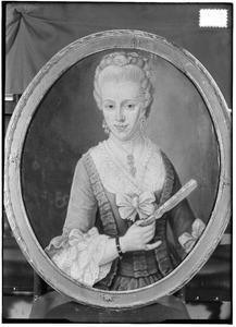 Portret van Maria Margaretha van Stralen (1753-1783)