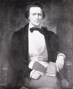 Portret van Louis Jacques Veltman (1817-1907)