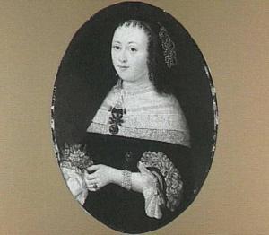 Portret van Helena Stavenisse (1636-1690), echtgenote van Anthonij Pietersz. van Bronckhorst en na diens dood van Jurriaan Vosch van Roelingsweerd