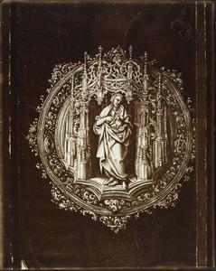 De H. Johannes de Doper in een gotische nis