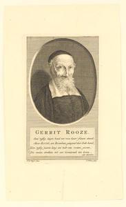 Portret van Gerrit Roosen (1612-1711)