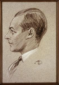 Portret van Jacob Johan van Raab van Canstein (1901-1977)