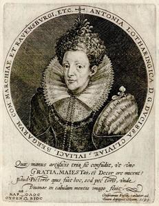Portret van Antoinette van Lotharingen (1568-1610)