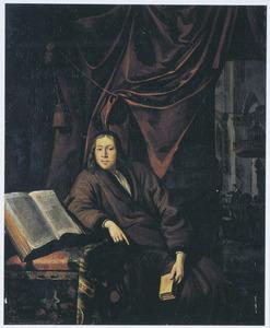 Portret van een man, mogelijk een predikant